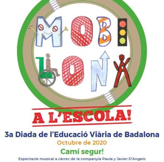 Badalona celebra la Mobilona, la tercera diada de l'educació viària a la ciutat