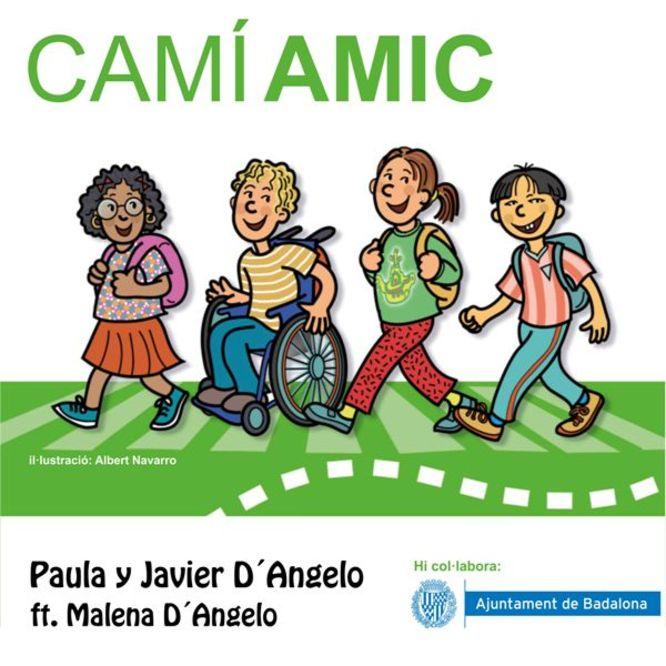 Neix Camí amic una cançó per millorar la seguretat dels infants i l'educació viària a Badalona