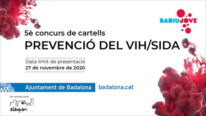 Es convoca la V edició del Concurs de Cartells per a la Prevenció del VIH/Sida 2020
