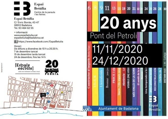 L'Espai Betúlia presenta l'exposició 20 anys Pont del Petroli