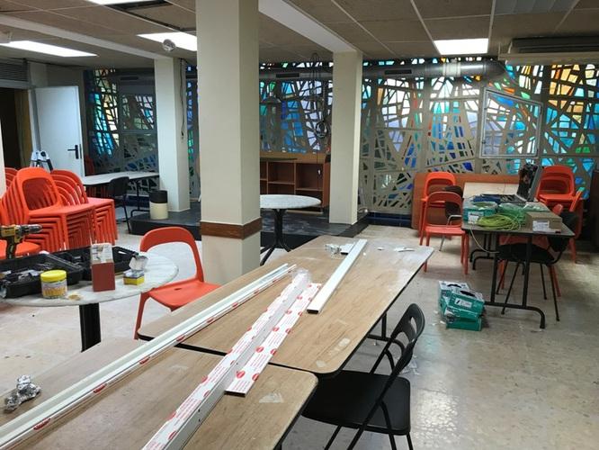 Les obres per a la reobertura del Casal de Gent Gran de Can Mercader finalitzaran el mes de febrer