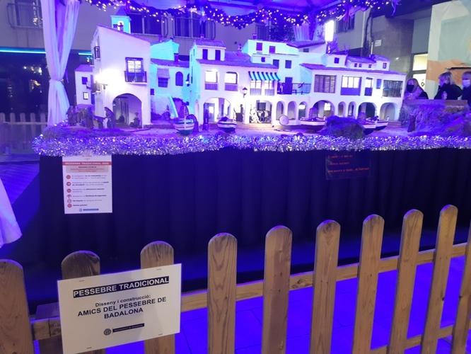 El Pessebre de la plaça de la Vila i la 22a Mostra de Pessebres a la sala El Refugi ja estan oberts al públic
