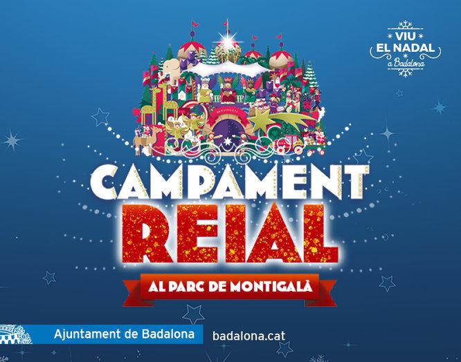A causa del vent avui no obrirà el Campament Reial instal·lat al parc de Montigalà