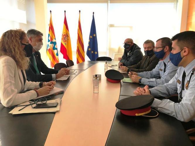 L'Ajuntament de Badalona es coordina amb Mossos d'Esquadra i Guàrdia Urbana per eliminar el cultiu il·legal de marihuana responsable dels talls elèctrics per sobrecàrrega de la xarxa