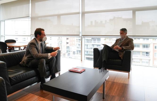L'alcalde i el president del PSC a Badalona es reuneixen per abordar les necessitats de la ciutat en matèria d'inversions