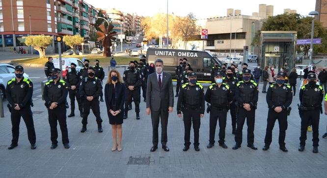 La Unitat Omega de la Guàrdia Urbana de Badalona entra en funcionament per millorar la seguretat a la ciutat