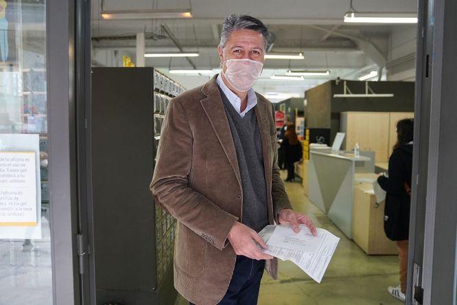 L'alcalde de Badalona sol·licita el vot per correu