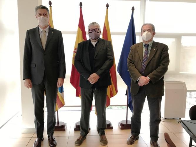 Badalona i Sant Adrià de Besòs sumen el suport de l'Àrea Metropolitana de Barcelona (AMB) per al desenvolupament de l'entorn de les Tres Xemeneies