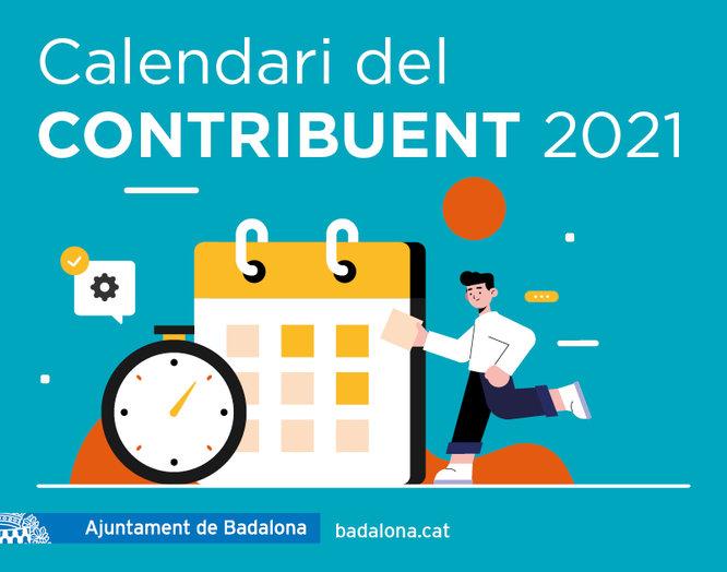 Calendari del contribuent 2021 a Badalona