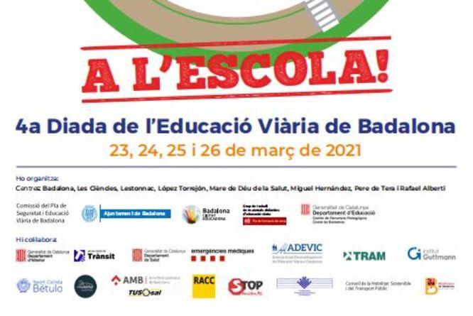 270 nens i nenes participaran durant aquest mes de març en la 4a edició de la MOBILONA, la Diada de l'Educació Viària de Badalona