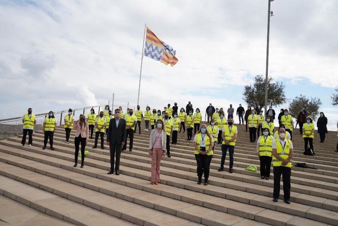 Entren en servei els 39 agents cívics contractats a través del Pla d'Ocupació 'Badalona amb tu!' de l'Ajuntament