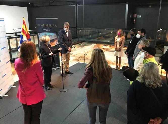 Badalona enriqueix el seu llegat romà de Baetulo amb la inauguració de la Casa de l'Heura