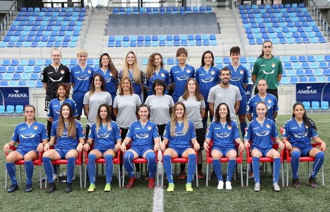 Les jugadores del primer equip del Club Esportiu Seagull Badalona, protagonistes aquest divendres al Teatre Zorrillla del Pregó de les Festes de Maig 2021