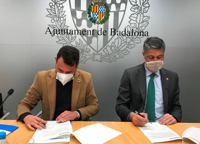 El Govern municipal, el Grup municipal socialista, l'Associació de Marxants de Badalona i el grup de restauradors Forquilla Badalona han signat un protocol d'acords per ajudar a pal·liar els efectes econòmics de la Covid-19