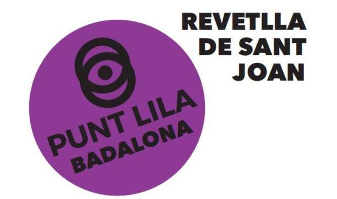 L'Ajuntament de Badalona posa per primera vegada en funcionament tres Punts Liles contra les violències sexuals durant la revetlla de Sant Joan