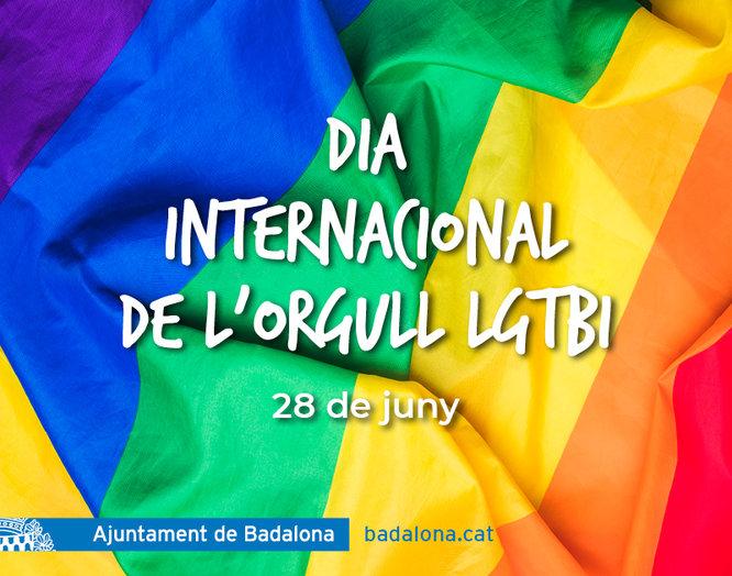 Badalona commemorarà el Dia Internacional de l'Orgull LGTBI amb la lectura conjunta d'un Manifest