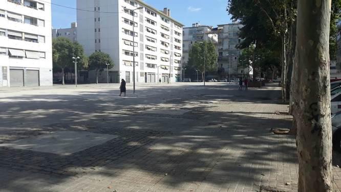 L'Ajuntament de Badalona fa un operatiu de neteja al barri de Sant Roc i recull 2.500 quilos de residus