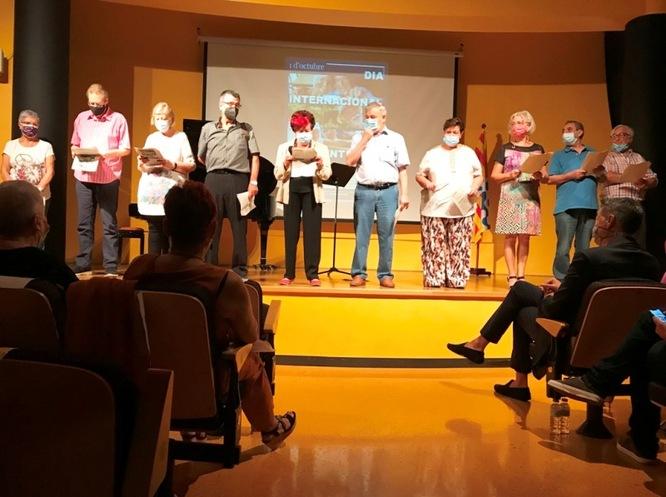Badalona ha commemorat el Dia Internacional de la Gent Gran amb un acte institucional i reivindicatiu